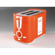 Ariete 124 O Tosti 2 Slice Toaster  Orange 500 W