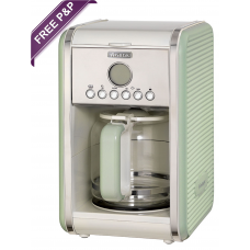 Ariete  1342 G Vintage Retro Filter Coffee Machine  Green