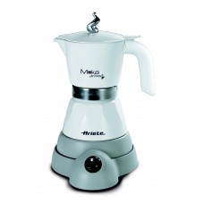Ariete 1358 W Electric Moka Aroma Fresh Coffee Machine White