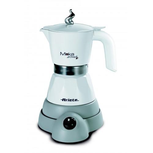 Ariete 1358W Electric Moka Aroma Fresh Coffee Machine White
