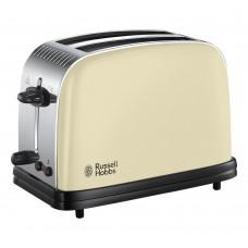Russell Hobbs 23334 Colour Plus 2 Slice Toaster Cream PLAIN BOX