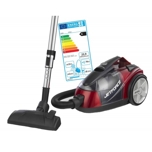 Ariete 2791/2 Jet Force Red A Class Bagless Vacuum Cleaner