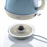 Ariete 2869 LB Vintage Retro Cone Shaped Kettle Light Blue