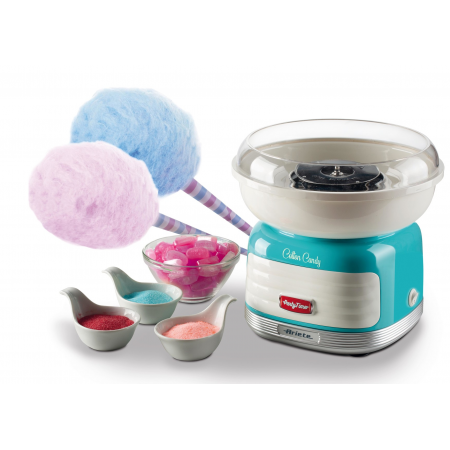 Ariete 2973 Cotton Candy Party Time 450 W Candy Floss Marker Blue