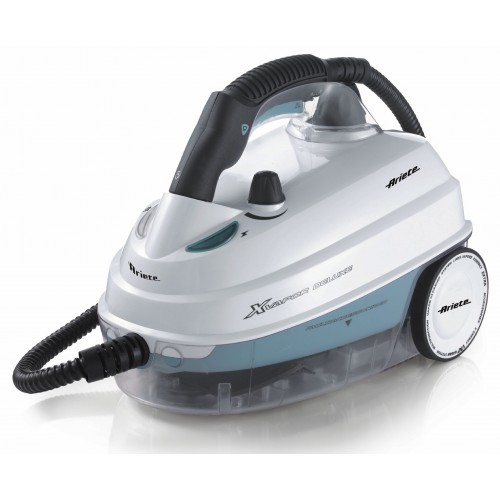 Ariete 4146 Xvapor Deluxe White Steam Cleaner 5 Bar Pressure 1.6 litre Capacity