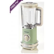 Ariete 568 G Vintage Retro Blender Smoothies 500W Green
