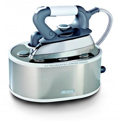 Ariete 6290/7 Stiromatic 2800 Inox Steam Generator Iron Professional Aluminium Sole Plate