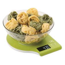 Jata 709N Electronic Kitchen Scales, Green, 5 kg