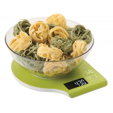 Jata 709N Electronic Kitchen Scales, Green, 5 kg
