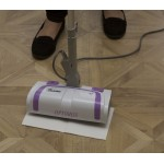 Light 'n' Easy 7333 Electronic Floor Steam Mop and Germ Buster 600Watt White-Lavender