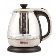 Girmi BL41 Tisaniera Electric Kettle and Teapot SMALL 1 Litre Illuminated Glass 1100 W