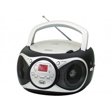 Trevi CD 512 Portable Stereo Radio With CD Player BLACK