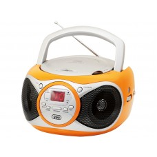 Trevi CD 512 Portable Stereo Radio With CD Player ORANGE