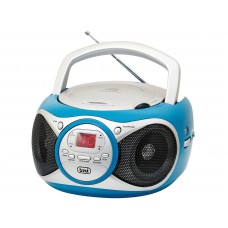 Trevi CD 512 Portable Stereo Radio With CD Player TURQUOISE
