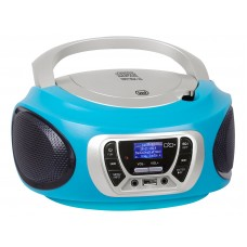 Trevi CMP 510 DAB Stereo CD Boombox Portable Radio DAB / DAB + TURQUOISE