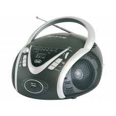 Trevi CMP 542 USB PORTABLE RADIO WITH CD MP3 USB PLAYER Boombox Grey