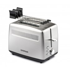 G3 Ferrari G10064 Tramezzo 2 Slice electric toaster with S/S Pliers Stainless Steel