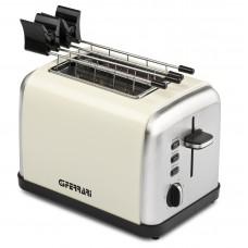 G3 Ferrari G10082 TITOSTO 2 slice Electric Toaster with Pliers Cream 850 W
