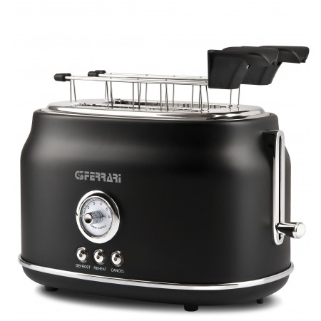 G3Ferrari G10134 Artista Retro Style 2 Slice Electric Toaster Black