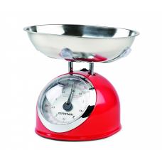 G3Ferrari G20003 Aska Mechanical Kitchen Scales Retro Style 5 Kg RED