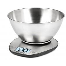 G3Ferrari G20062 Linea Electronic Kitchen Scales Capacity 5 Kg LCD S/S Bowl