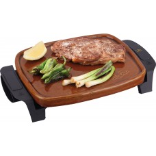 Jata GR208 Terracotta Roasting Griddle Grill Made in Spain 550W