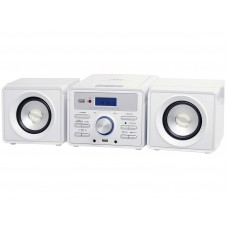 Trevi HCX 1030 S Mini Hi-Fi  System Stereo FM Radio CD Player White