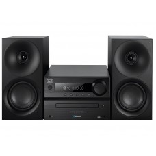 Trevi HCX 1080 BT HIFI SYSTEM CD, MP3, USB with Radio Bluetooth BLACK