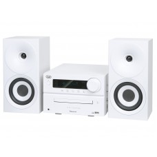 Trevi HCX 1080 BT HIFI SYSTEM CD, MP3, USB with Radio Bluetooth WHITE