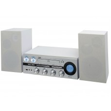 Trevi 1900 BT Hi-fi System Stereo Bluetooth CD MP3 FM Radio WHITE