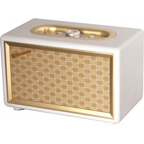 Roadstar HRA-310BT Vintage  Retro Style FM Radio With Bluetooth Cream