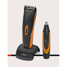 AEG HSM/R 5597 NE Hair- and Beard-Trimmer 2 in 1 Kit