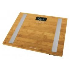 Jata MOD.577 Fitness Analyser Bathroom Scales Bamboo