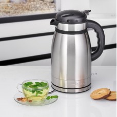 Proficook Germany PC-WKS 1148T Thermo Electric Jug Kettle 2 IN 1 Double Walled S/S