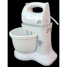 Status Pittsburgh 2 in 1 Detachable Hand Mixer & Bowl 300W  5 Speed Glossy White
