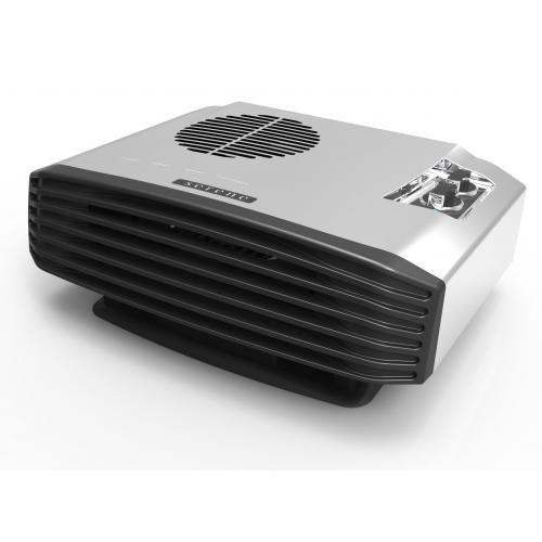 Serene Living S2067 Elite Electric Stainless Steel Portable Fan Heater 5 Year Warranty