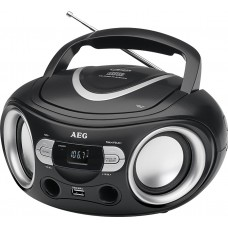 AEG SR 4374 CD/USB Stereo radio with CD Music Centre Black