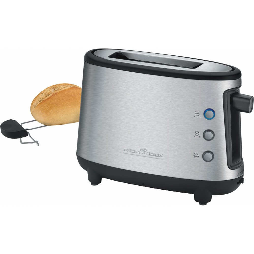 proficook of germany ta 1122 one slice toaster bun warmer stainless steel 550w advanced. Black Bedroom Furniture Sets. Home Design Ideas