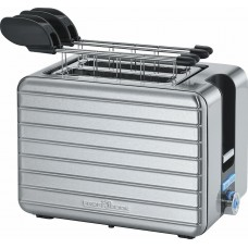 Proficook of Germany TAZ 1110 Electric 2 Slice Toaster with Tongs Stainless Steel 1050W
