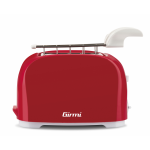 Girmi TP11 Two Slice Toasters 6 cooking Levels 800 W RED New Model For 2020