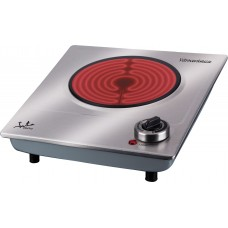 Jata V531 Vitroceramic Electric Hotplate Glass Stainless Steel Housing 1200W