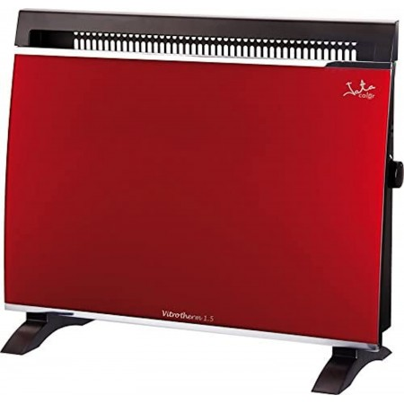 Jata VT150N Vitrotherm Tempered RED Safety Glass Convection Electric Heater 1500 W