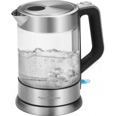 Proficook of Germany WKS 1107 G Electric Glass Kettle with Stainless Steel 1.5 Litres 1200W
