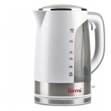 Girmi BL90 Grande Electric Kettle Large Capacity 2.5 Litres 2200 W White-Clear