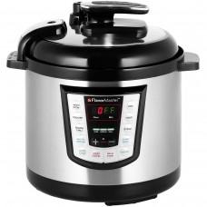 Thane Flavor Master Digital Electric Pressure Cooker 6 Litre 10-in-1 Silver