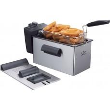 Jata FR679 Stainless Steel Deep Fat Fryer, 3.5 Litre, 2100 W