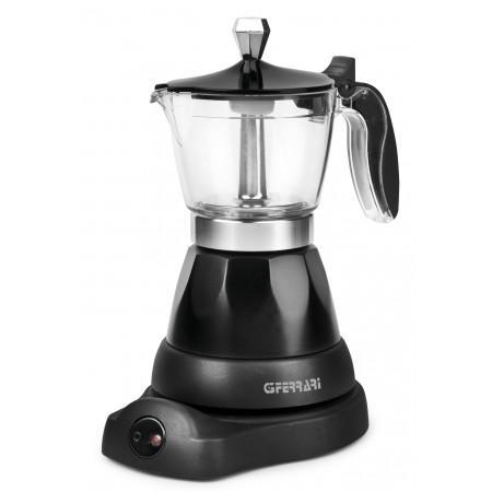 G3 Ferrari G10028 Bonjour Italian Style Electric Moka Coffee Maker 400 W Black