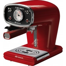 Ariete 1388R Caffe Retro Vintage Coffee espresso Machine Red