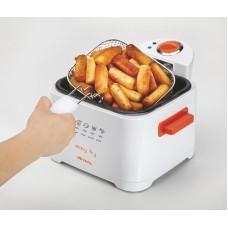 Ariete 4611Easy Fry 2.5 Litre Deep Fryer, Orange 2000W