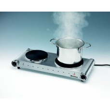 Ariete 994 Cooking Hot Plate Double Stainless Steel